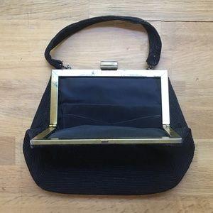 Bags - Vintage Black Wristlet/Clutch/Purse